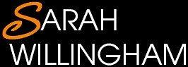 Sarah logo white version